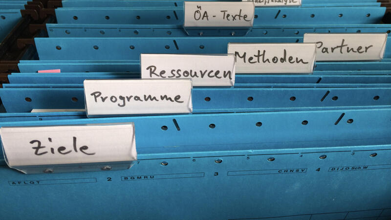 Zdjęcie kartoteki folderów i plików
