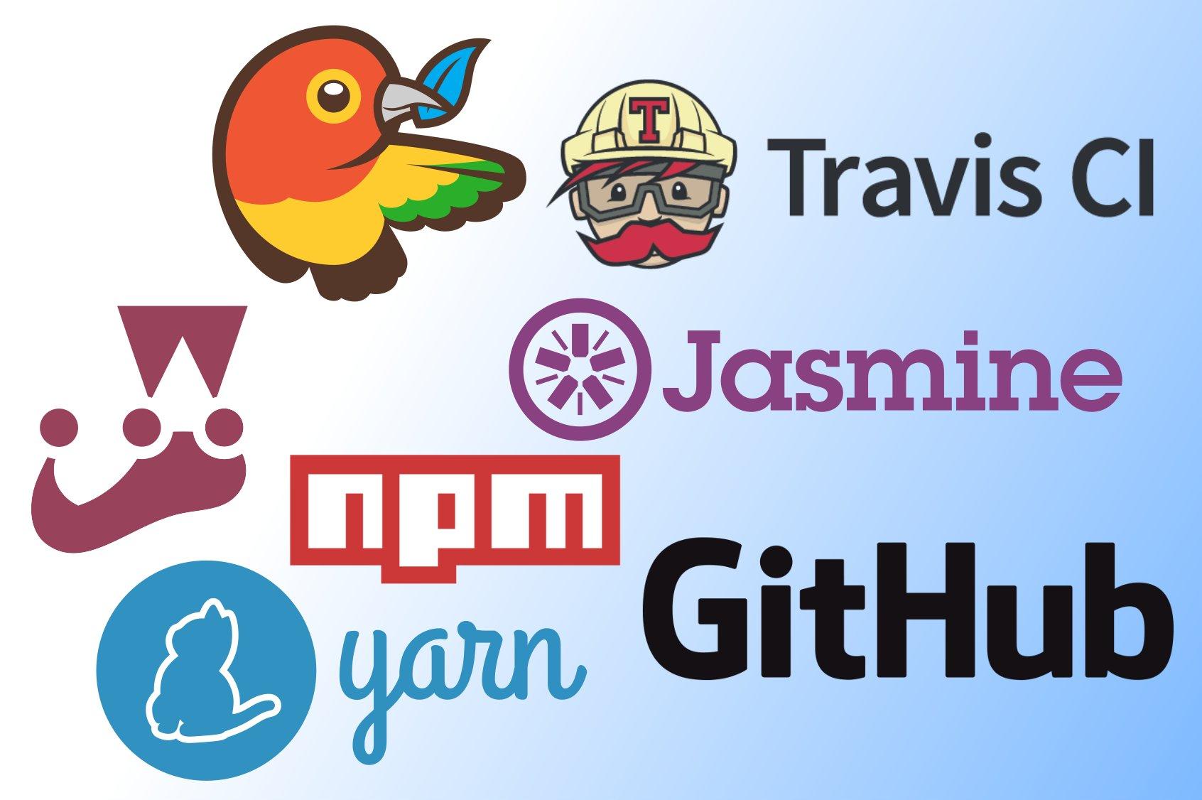 Logos for JavaScript tools