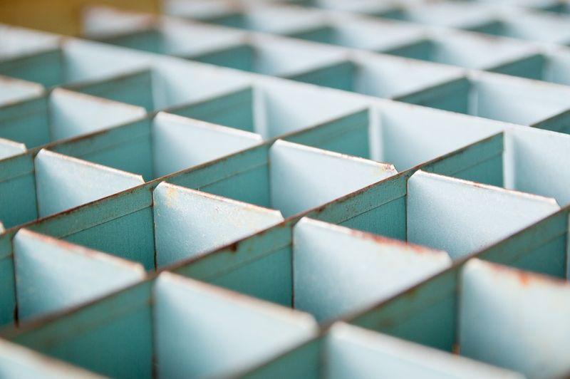Zdjęcie wzróru z kwadratowych przegórdek